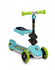 BYOX Тротинетка - скутер със седалка 2в1 EPIC СИН GW-TS005