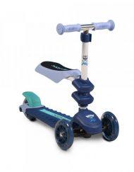 BYOX Тротинетка - скутер със седалка 2в1 POP СИН GW-TS003