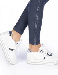 Дамски спортни обувки Trina бели