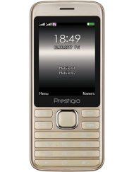 GSM, Prestigio Grace A1, 2.8'', Dual SIM, Golden (PFP1281DUOGOLD_EN)