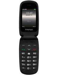 GSM, Prestigio Grace B1, 2.4'', Dual SIM, Black (PFP1242DUOBLACK_EN)