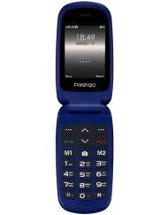 GSM, Prestigio Grace B1, 2.4'', Dual SIM, Blue (PFP1242DUOBLUE)
