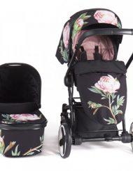 KIKKA BOO Комбинирана количка 2в1 TENDER FLOWERS 31001020042