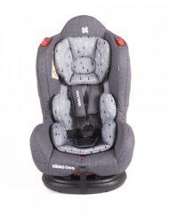 KIKKA BOO Стол за кола 9-25 кг. HOOD GREY 31002060014