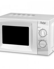Микровълнова фурна ZEPHYR ZP 1443 B20 бяла, 20 л, 700W, Таймер 30 мин, Размразяване