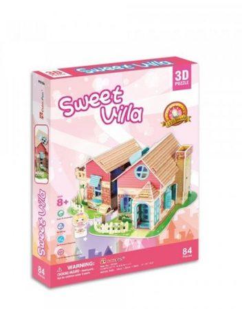 CubicFun 3D Къща за сглобяване СЛАДКА ВИЛА P615h