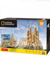 CubicFun 3D Пъзел BARCELONA SAGRADA FAMILIA NATIONAL GEOGRAPHIC DS0984h