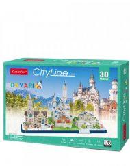 CubicFun 3D Пъзел CITY LINE BAVARIA MC267h
