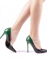 Дамски обувки Dillon зелени