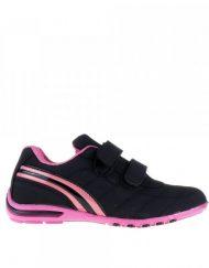 Детски спортни обувки Garth черно с розово