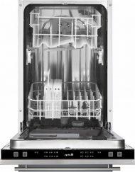 Съдомиялна за вграждане, Arielli ADW8-7704C, Енергиен клас: А++, капацитет 9 комплекта, 6 програми