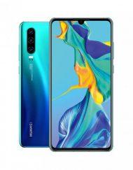 Smartphone, Huawei P30, Dual SIM, 6.1'', Arm Octa (2.6G), 6GB RAM, 128GB Storage, Android, Aurora (6901443284610)