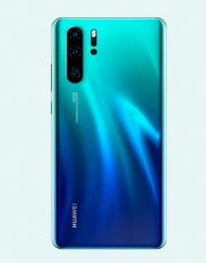 Smartphone, Huawei P30 Pro, Dual SIM, 6.47'', Arm Octa (2.6G), 6GB RAM, 128GB Storage, Android, Aurora (6901443292561)