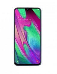 Smartphone, Samsung GALAXY A40, DualSIM, 5.9'', Arm Quad (1.8G), 4GB RAM, 64GB Storage, Android, White (SM-A405FZWDBGL)