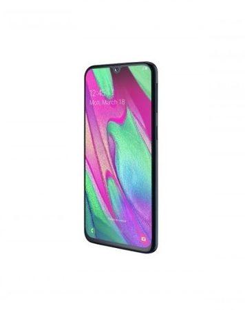 Smartphone, Samsung GALAXY A40, DualSIM, 5.9'', Arm Quad (1.8G), 4GB RAM, 64GB Storage, Android, Black (SM-A405FZKDBGL)
