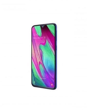 Smartphone, Samsung GALAXY A40, DualSIM, 5.9'', Arm Quad (1.8G), 4GB RAM, 64GB Storage, Android, Blue (SM-A405FZBDBGL)
