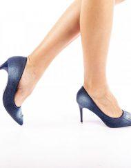 Дамски обувки Emira тъмно сини