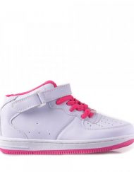 Детски спортни обувки Cindy бяло с розово