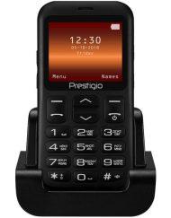 GSM, Prestigio MUZE L1, 2.2'', Dual SIM, Black (PFP1220DUOBLACK)