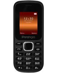 GSM, Prestigio Wize F1, 1.77'', Dual SIM, Black (PFP1183DUOBLACK)