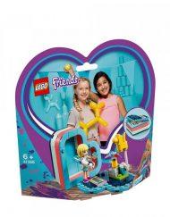 LEGO FRIENDS Лятната кутия с форма на сърце на Стефани 41386