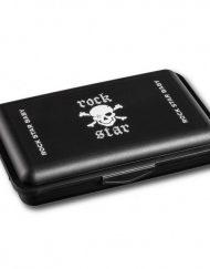 Rock Star Baby Кутия за храна - Пират - черна