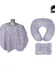 Sevi Baby Комплект за кърмене от 3 части - Сив