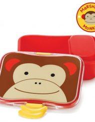 Skip Hop Детска кутия за храна - маймунката Маршал