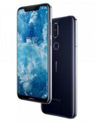 Smartphone, NOKIA 8.1 TA-1119, DualSIM, 6.18'', Arm Octa (2.2G), 4GB RAM, 64GB Storage, Android, Blue