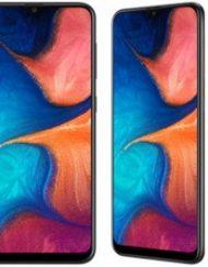Smartphone, Samsung GALAXY A20, DualSIM, 5.8'', Arm Octa (1.6G), 3GB RAM, 32GB Storage, Android, Black (SM-A202FZKDBGL)