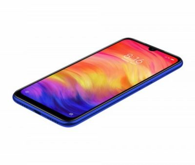 Smartphone, Xiaomi Redmi Note 7, DualSIM, 6.3'', Arm Octa (2.2G), 4GB RAM, 64GB Storage, Android, Blue (MZB7560EU)