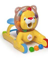 Bright Starts Активна проходилка 3-в-1 Step 'n Ride Lion