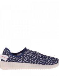 Мъжки спортни обувки Kaleb синьос бяло