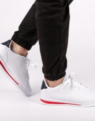 Мъжки спортни обувки Merrick бели с ъс синьо