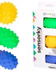 Mom`s Care Бебешки сензорни играчки Веселите топки, 3 броя/оп.