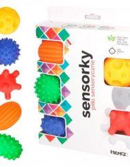 Mom`s Care Бебешки сензорни играчки Веселите топки, 5 броя/оп.
