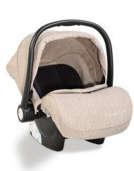 Moni Детско столче-кошничка за кола Veyron Бежово