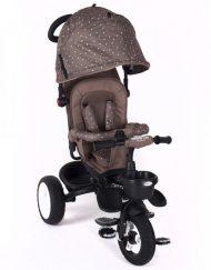 KIKKA BOO Триколка със сенник и въртяща се седалка DOTTY BROWN 31006020050