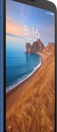 Smartphone, Xiaomi Redmi 7А, DualSIM, 5.45'', Arm Octa (2.0G), 2GB RAM, 16GB Storage, Android, Matte Blue (MZB7805EU)