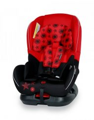 LORELLI-BERTONI Line Стол за кола CONCORD 0-18кг BLACK&RED STARS 1007016/1760