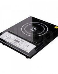 Индукционен котлон ESPERANSA ES 1445 QG, Стъклокерамична плоча 188 мм, 2000W, LED екран, 6 функции, 8 степени, Черен