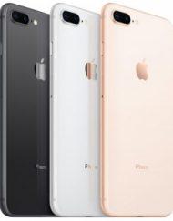 Smartphone, Apple iPhone 8 Plus, 5.5'', 128GB Storage, iOS 11, Gold (MX262GH/A)