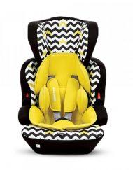 KIKKABOO Стол за кола 9-36 кг. NOMAD YELLOW/LIME 160423