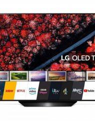 TV LED, LG 65'', OLED65B9PLA, Smart, OLED, webOS ThinQ AI, Bluetooth, WiFi, UHD 4K