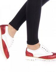 Дамски обувки Bonton Червени