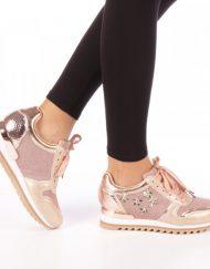Дамски спортни обувки Andree бежови