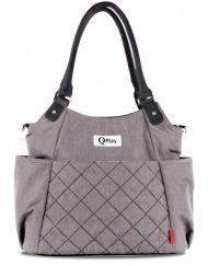 LORELLI QPLAY Чанта за количка с термоизолатор TOTE LIGHT GREY 1004014/0001