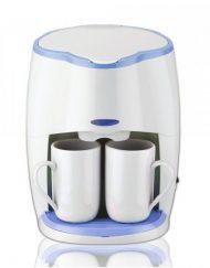 РАЗОПАКОВАН - Кафемашина с подарък 2 чаши SAPIR SP 1170 L, 450W, LED индикатор, Бяла