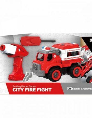 CITY SANITATION Пожарникарска кола за сглобяване с винтоверт 1810B386