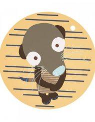 Lassig Подложка за хранене Monsters Meerkat 1210003807